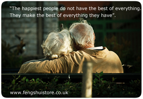 The Happiest People…